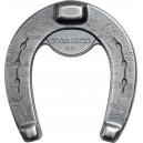 Legendární podkova pro štěstí na exkluzivní stříbrné minci originálního tvaru