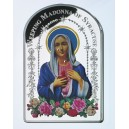 Plačící Panna Maria ze Syrakus - legendární obraz od Amilcara Santiniho