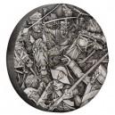 Husaři - věhlasní válečníci na atraktivní stříbrné minci s vysokým reliéfem