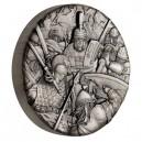 Římané - věhlasní válečníci na atraktivní stříbrné minci s vysokým reliéfem