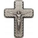 Krucifix - nejvýznamnější symbol křestanství - exkluzivní stříbrný unikát