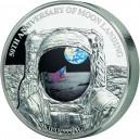 50. výročí přistání na Měsíci na exkluzivní 1kg minci - světová limitace pouhých 169 exemplářů