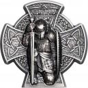První král ostrova Man na atraktivní stříbrné minci s vysokým reliéfem