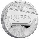 Legendární kapela Queen na atraktivní stříbrné minci
