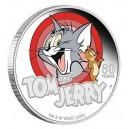 Tom a Jerry - 80. výročí legendárních postaviček na atraktivní stříbrné minci
